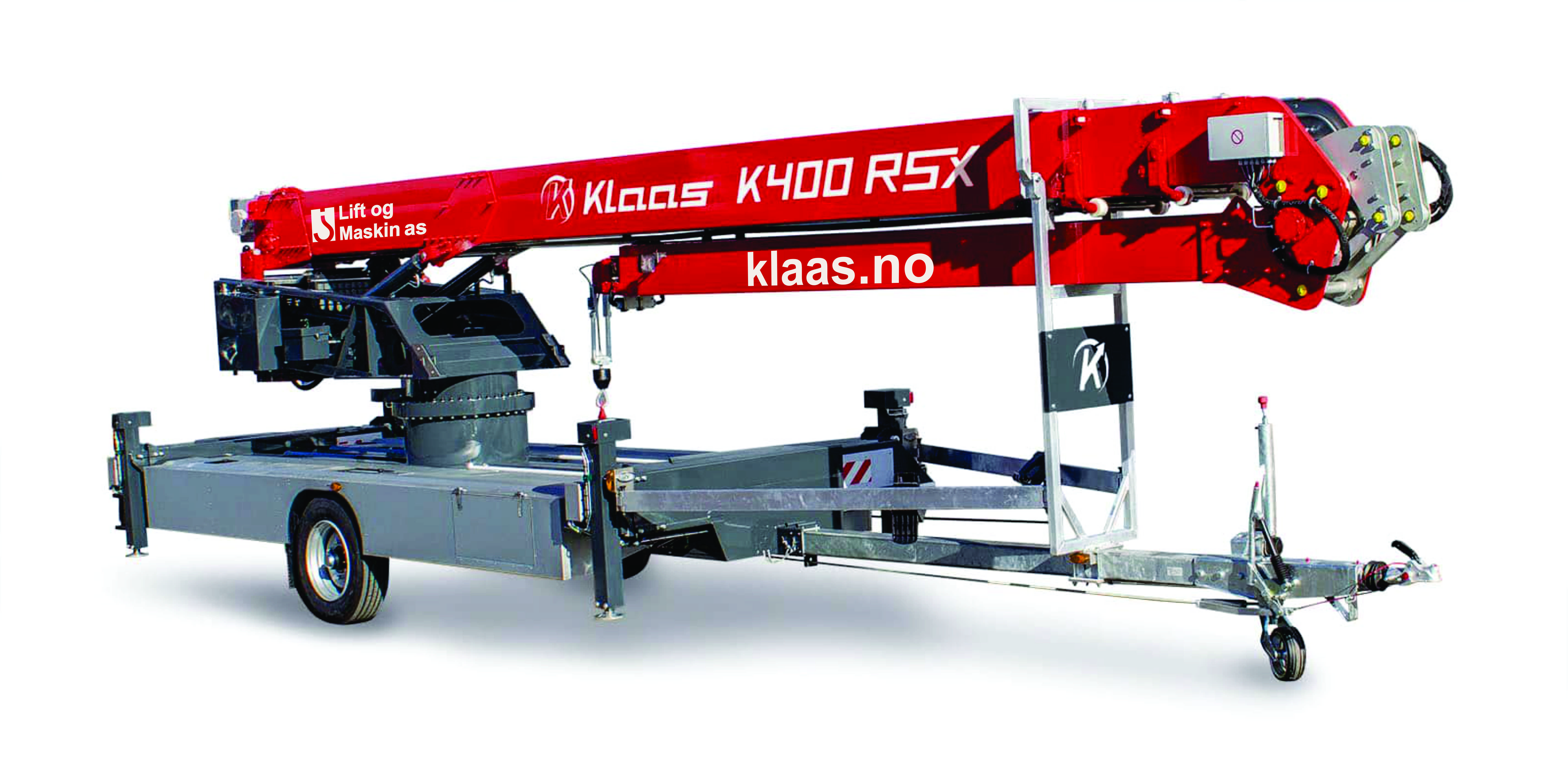 NYHET: Klaas K400RSX maks 3tonn løft