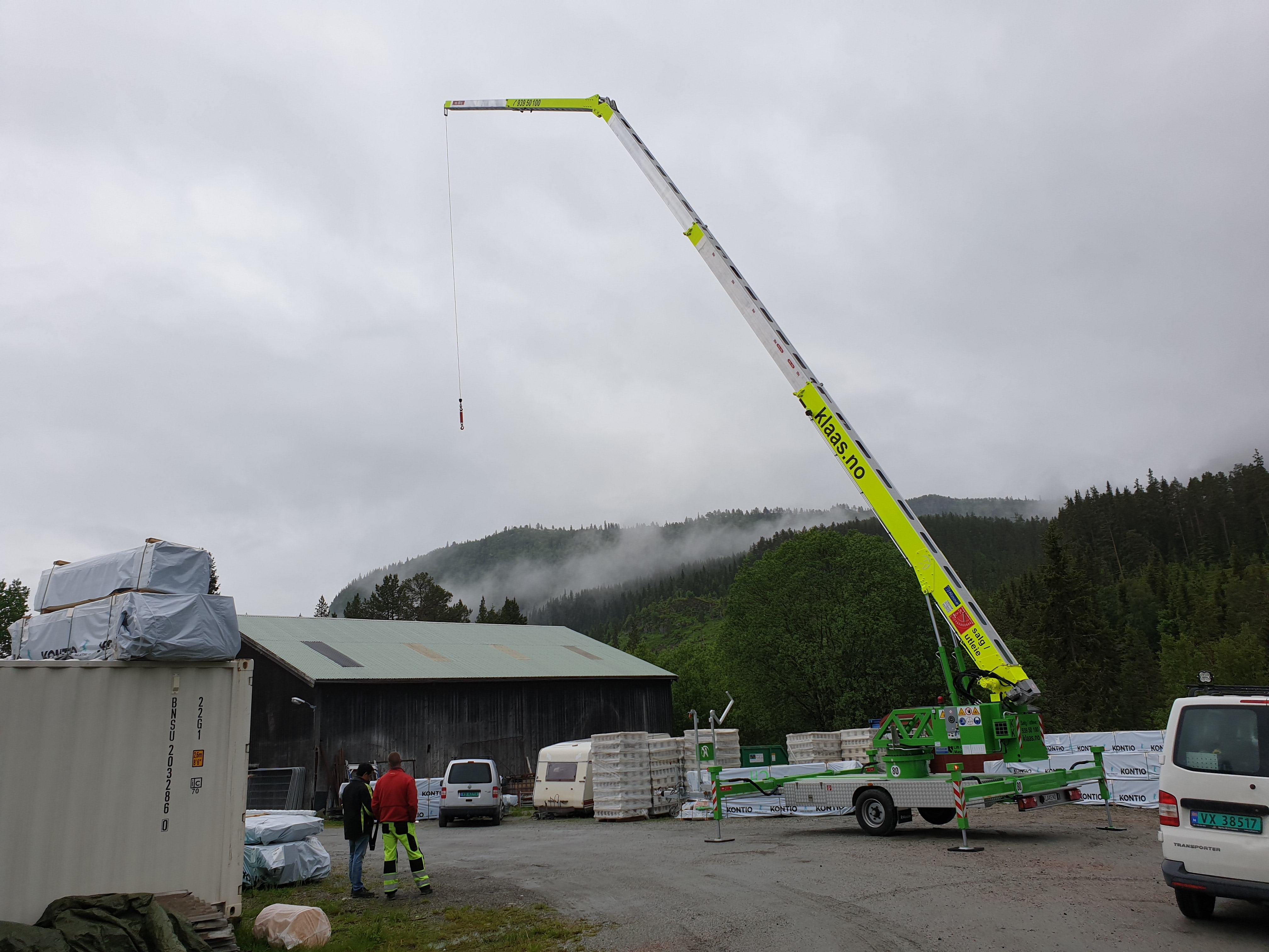 Nyhet! Eldrift (hybrid) kan leveres på K21-30, K23-33 og K400RSX